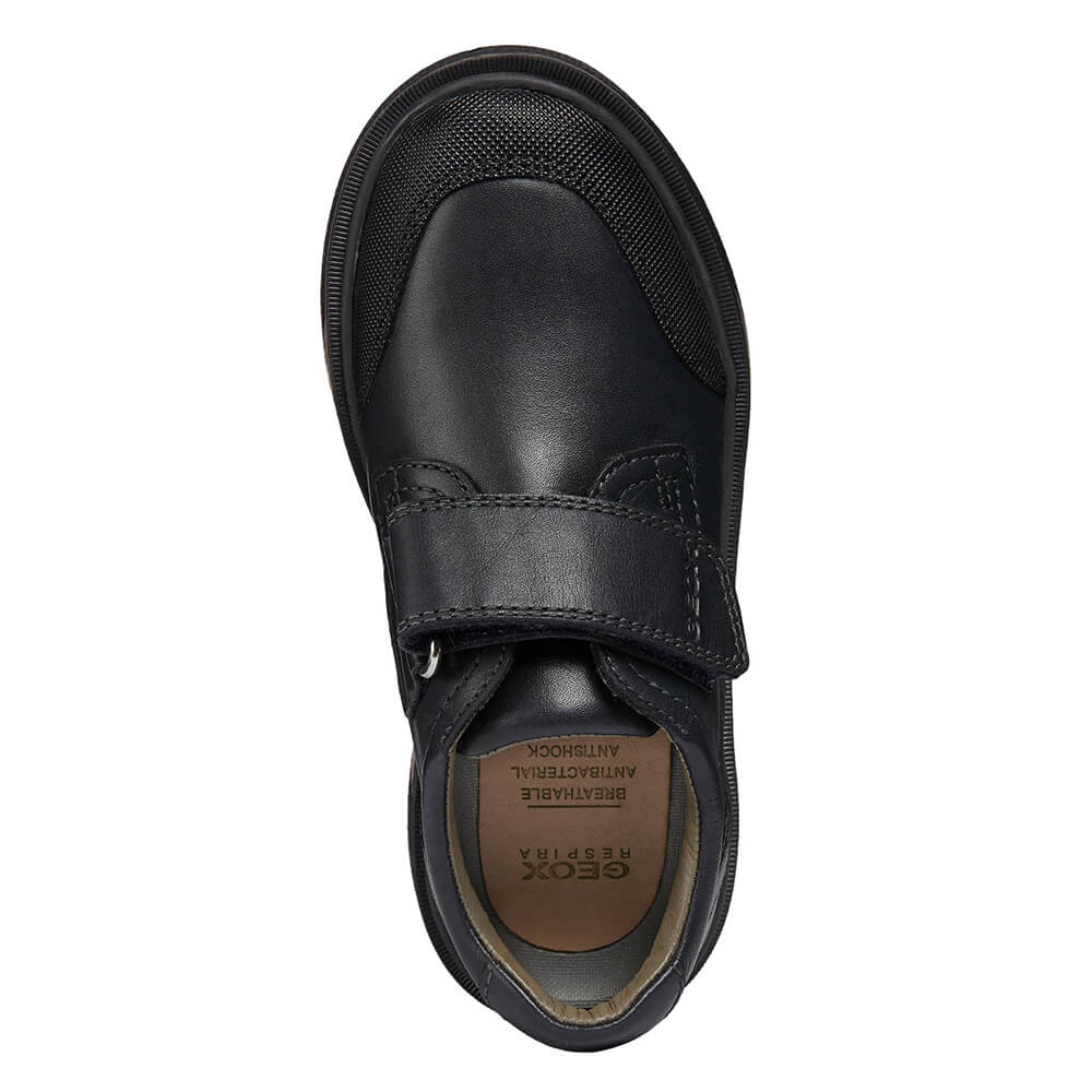 Estresante Aliviar reembolso  Zapato Niño Colegial GEOX Azul Marino oscuro - RIDDOCK | CanariasKidShoes