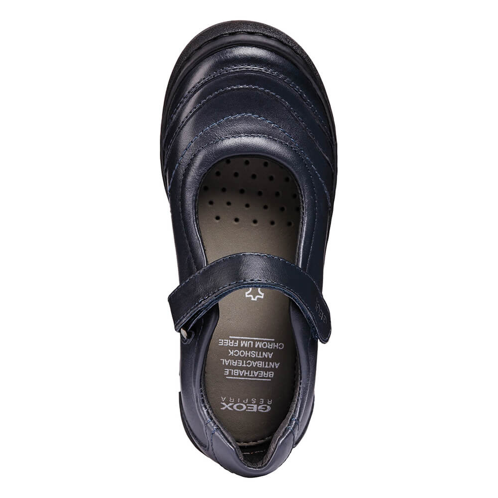 Recuerdo persuadir equilibrar  Mercedita Colegial para Niña GEOX Azul Marino | CanariasKidShoes