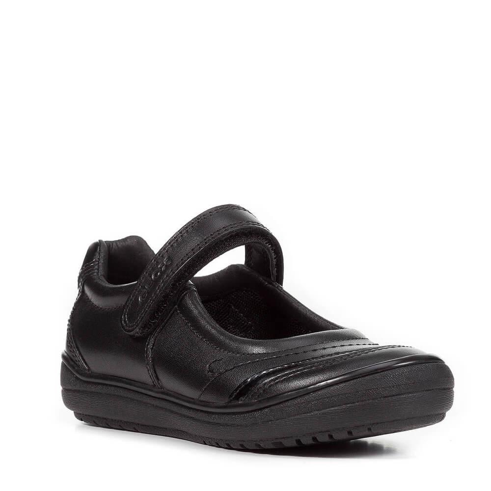 81d21538 Zapato Niña Colegial GEOX Negro | CanariasKidShoes