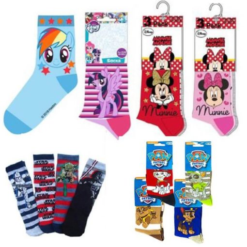 Calcetines nino star wars minnie pony