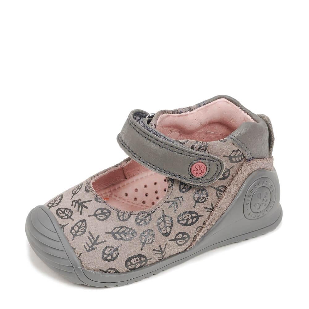 5fea77c4d9a Zapatos Color Humo BIOGATEO Marca BIOMECANICS   CanariasKidShoes