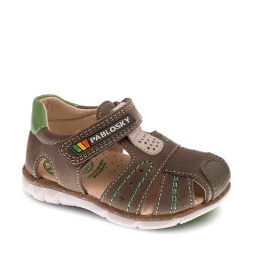Sandalias de Niño MARRÓN de Piel PABLOSKY