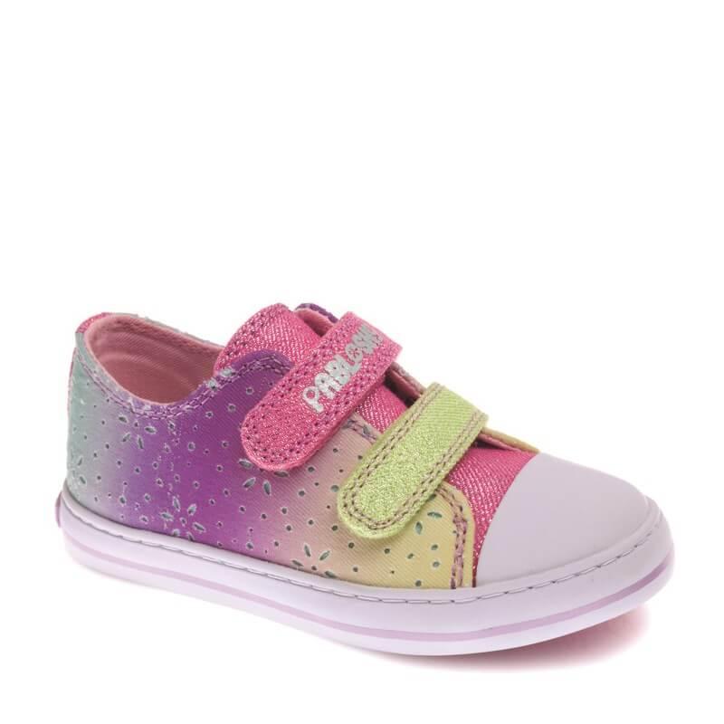 431d86462ec Zapatillas de Lona para Niña de COLORES - PABLOSKY | CanariasKidShoes