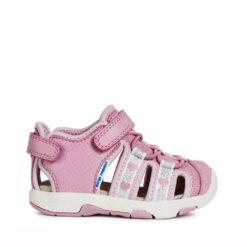 Cholas ROSA para Niñas y Bebés GEOX con CORAZONES