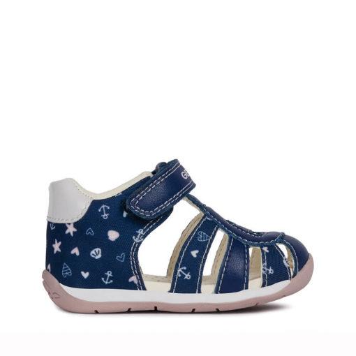 Sandalias de color AZUL MARINO para Niñas y Bebés GEOX