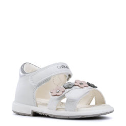 Sandalias BLANCA de Bebé y Niña GEOX. BABY VERRED