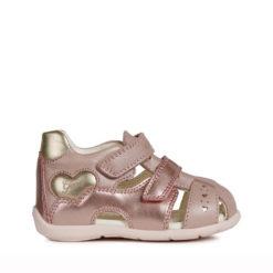 Sandalias de color ROSA para Niñas y Bebés GEOX