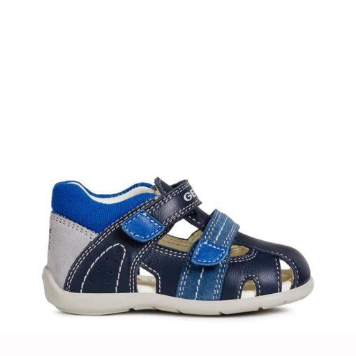 Sandalia para bebe y niños en color azul marino Geox