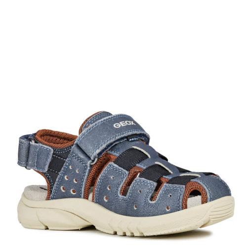 Sandalia niño casual navy Geox. JR FLEXYPER BOY