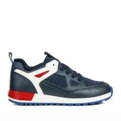 Tenis de la marca GEOX para Niño en azul marino.