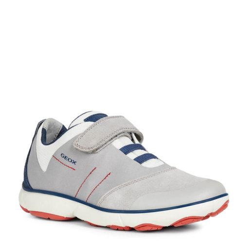 Tenis - Zapatilla deportiva niño gris Geox. JR NEBULA BOY