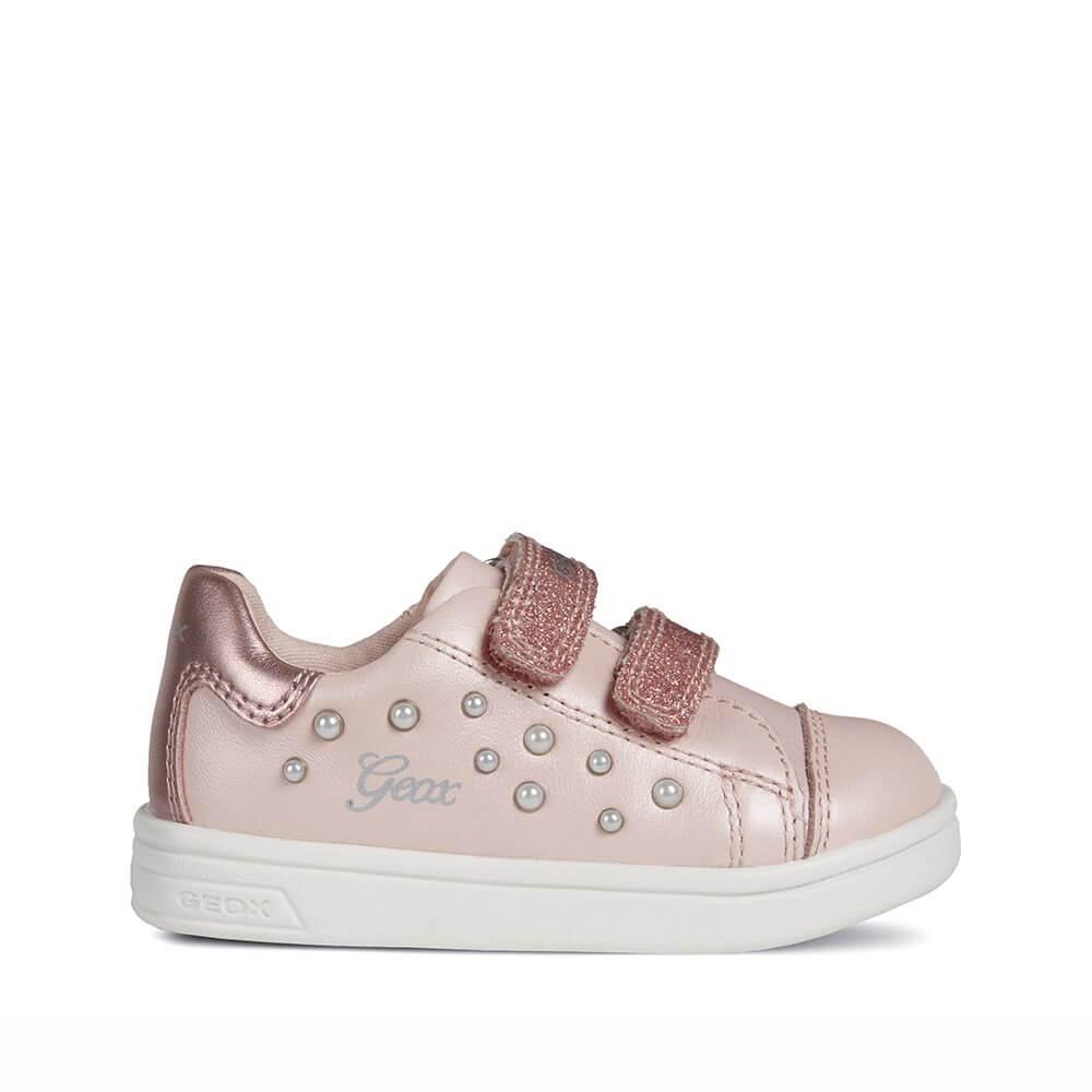 f01636b4b Zapatillas niña rosa palo Geox. Tenis BABY DJROCK GIRL