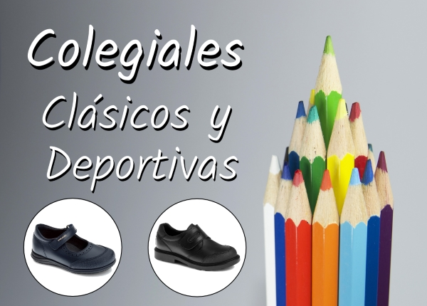 Zapatos para el colegio Outlet y Colegiales