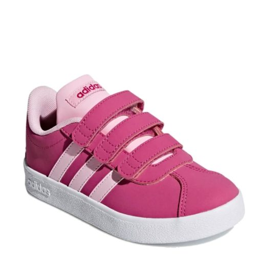 Zapatillas ADIDAS ROSAS para Niñas VL COURT 2.0