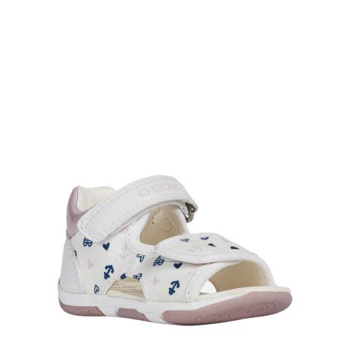 Sandalias para Bebé y Niña en Blanco GEOX. BABY TAPUZ