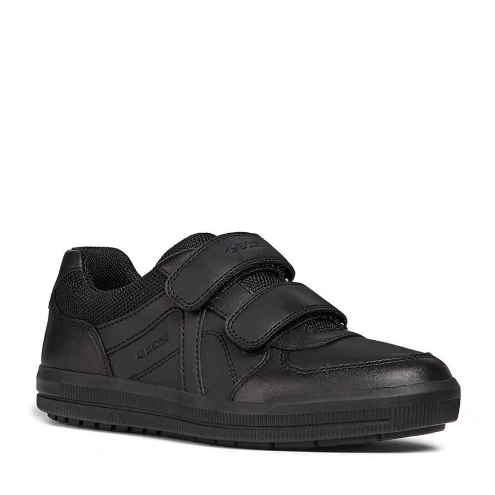 Una noche Curso de colisión Abastecer  Deportivas Negras GEOX ideal para el Colegio 🔝 Tenis Negro Zapatillas  Sneakers | eBay