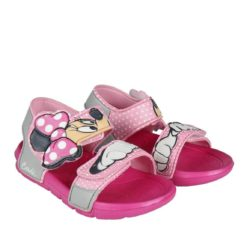 Sandalias Disney de Minnie Mouse en Rosa