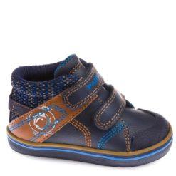 Bota Pablosky azul y marrón para Niños