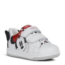 Deportivas blancas Minnie Mouse de GEOX