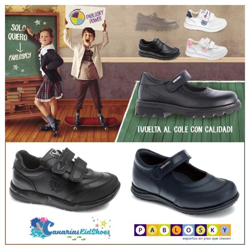 Zapatos Pablosky para Colegio y Escuela