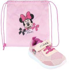 Deportiva Rosa Minnie Mouse + Bolsa