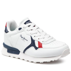 Tenis Pepe Jeans Niño Blancos ideal para Colegio